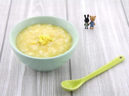 蛋黄地瓜粥