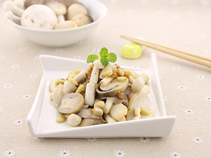 蒜香杂锦菇
