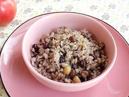 营养糙米饭