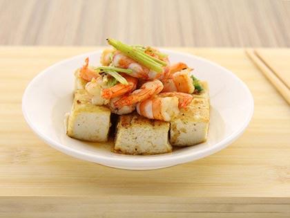 虾仁炒豆干