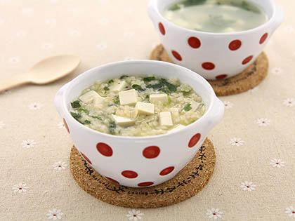 豆腐菠菜面