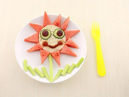 向日葵水果吐司