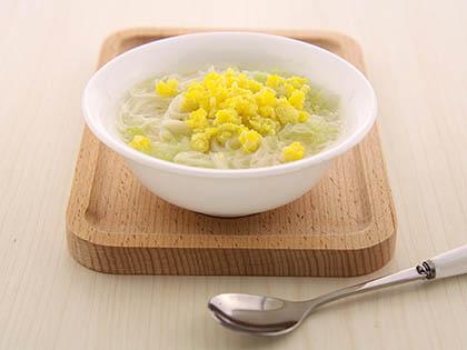 白菜蛋黄软面