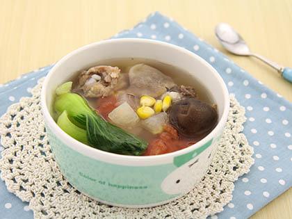 蔬香排骨汤
