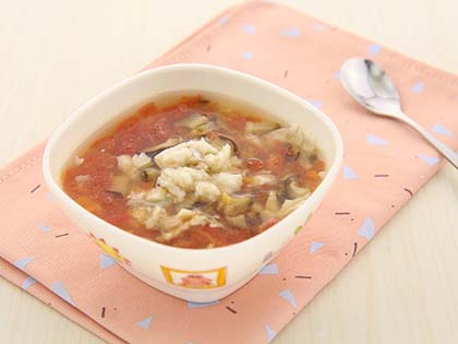 西红柿胡萝卜鱼肉羹