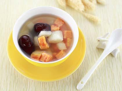 山药番薯甜汤