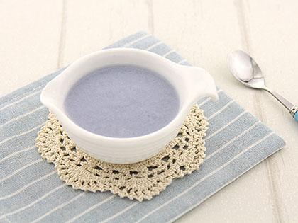 紫甘蓝米糊