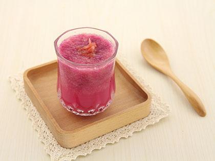 紫甘蓝西柚蔬果汁