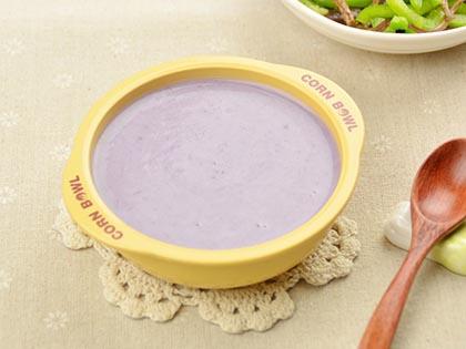 紫薯奶香粥