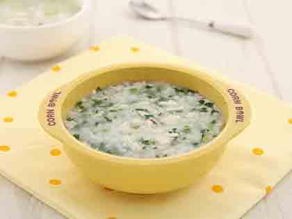 草鱼油菜粥
