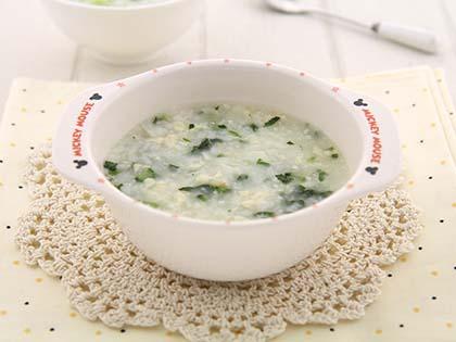 鱼泥豆腐青菜粥