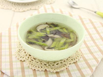 蘑菇芦笋汤