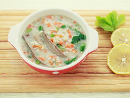 猪肝燕麦粥
