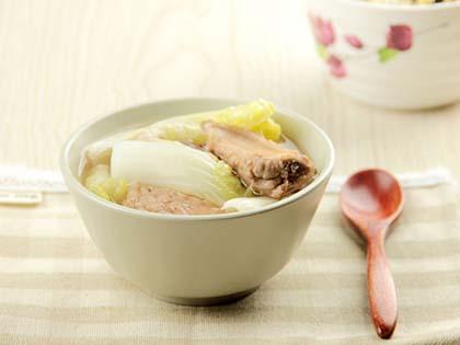 红豆白菜汤