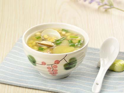 黄豆文蛤汤