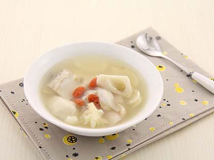 莲藕百合瘦肉汤