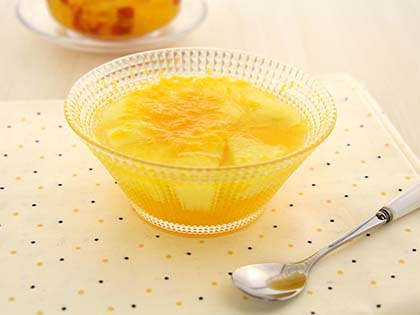 苹果橘子甜汤
