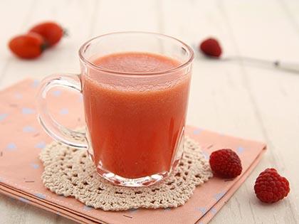 树莓茄果汁