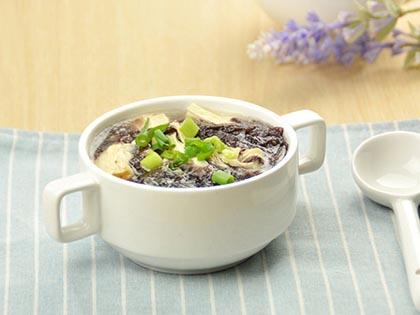 紫菜腐竹汤