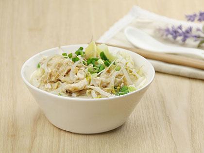 鱼汤炖双白