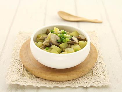 鲜蘑炒土豆