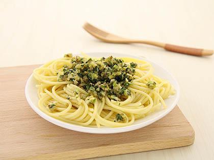 橄榄油生菜意大利面