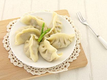 瘦肉芦笋饺子