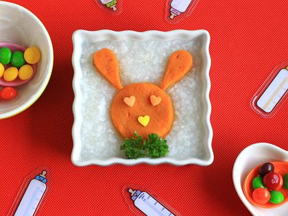 缤纷红薯粥