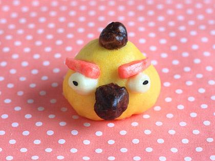 愤怒的小鸟玉米窝头