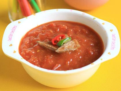 猪肝西红柿浓汤