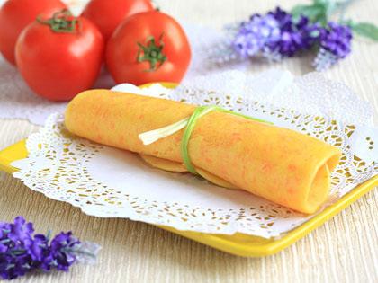 胡萝卜鸡蛋黄金饼