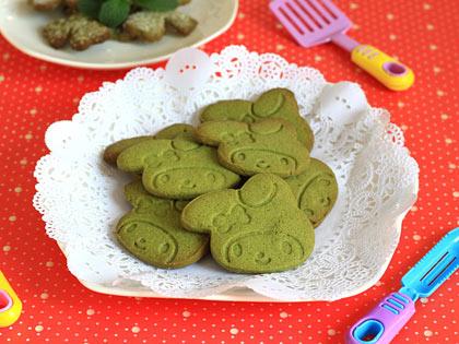 童趣抹茶兔子饼干