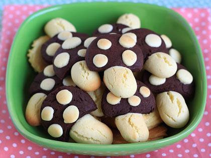 超可爱蘑菇饼干