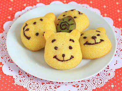 小熊费南雪饼