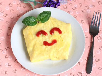 哈哈笑腊肠蛋包饭