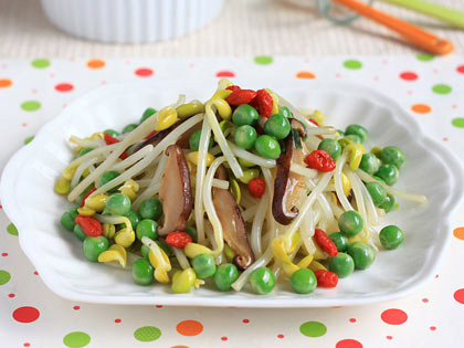 香菇黄豆芽