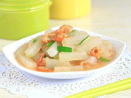 虾米烧冬瓜
