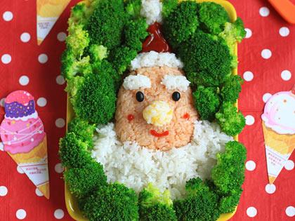圣诞老人饭团