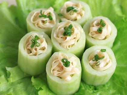 荞麦黄瓜卷