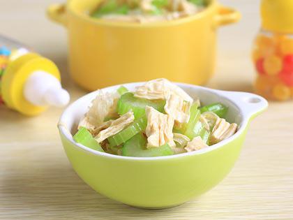 芹菜拌腐竹