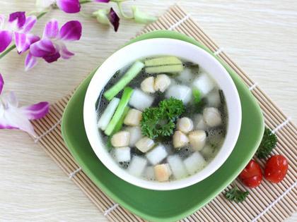 三鲜冬瓜汤