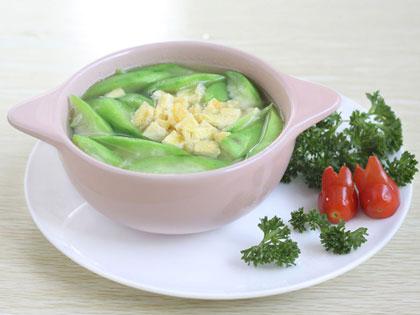 蛋花丝瓜汤