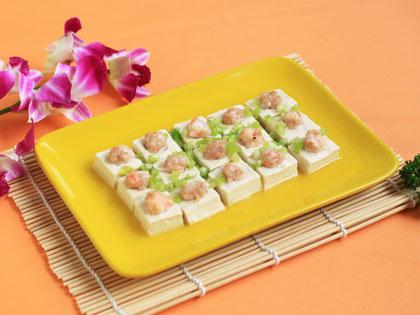 蒸酿豆腐角