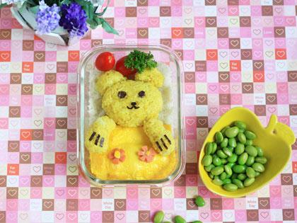小熊咖喱便当