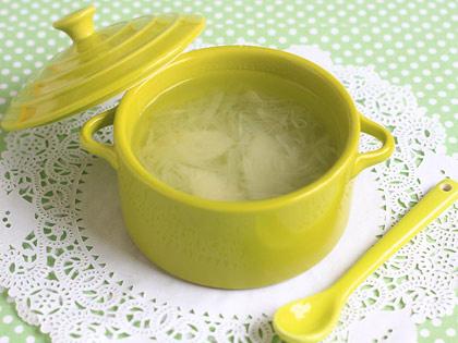 白萝卜梨子汁