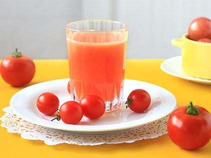 番茄菠萝汁