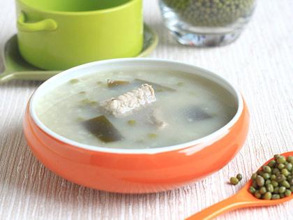 排骨绿豆海带粥