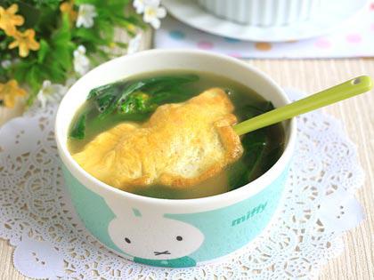 鲜虾蛋饺汤