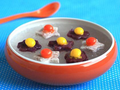 星星香芋紫薯西米露