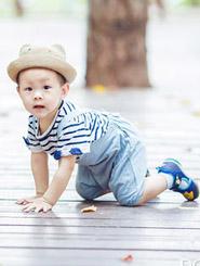 萌萌噠的周歲寶寶
